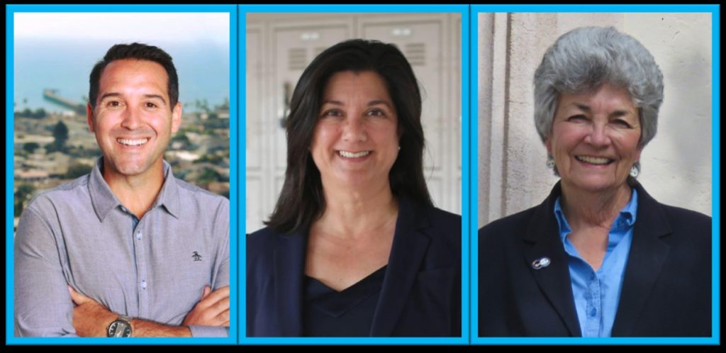 Image shows a series of photos of Mayor Matt Lavere, kimm marra stephenson, and carmen ramirez. We support them for supervisor.